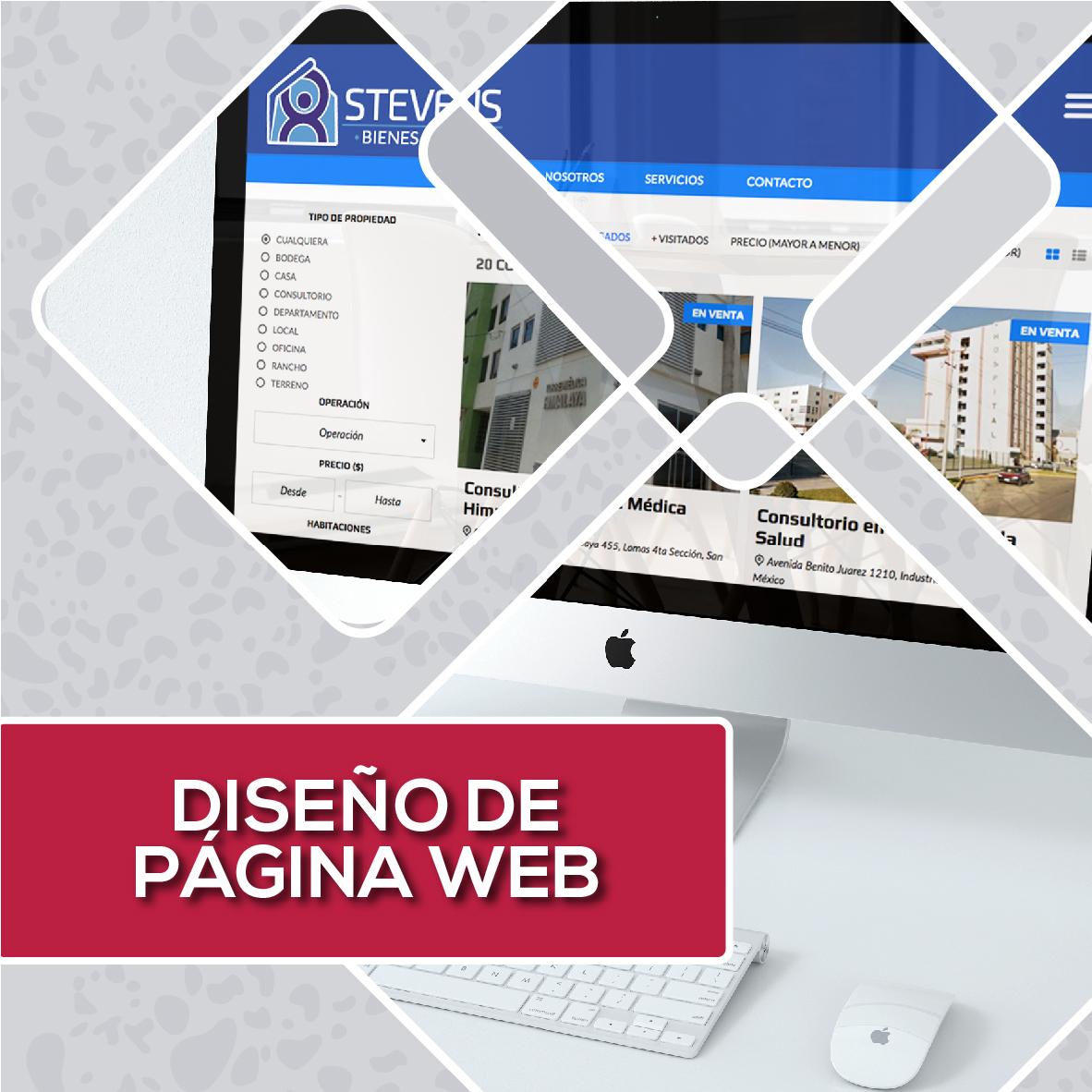 DISEÑO DE PÁGINAS WEB - NAGUAL CREATIVO