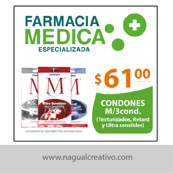 FARMACIA MEDICA - Diseño de publicidad - Nagual Creativo 2