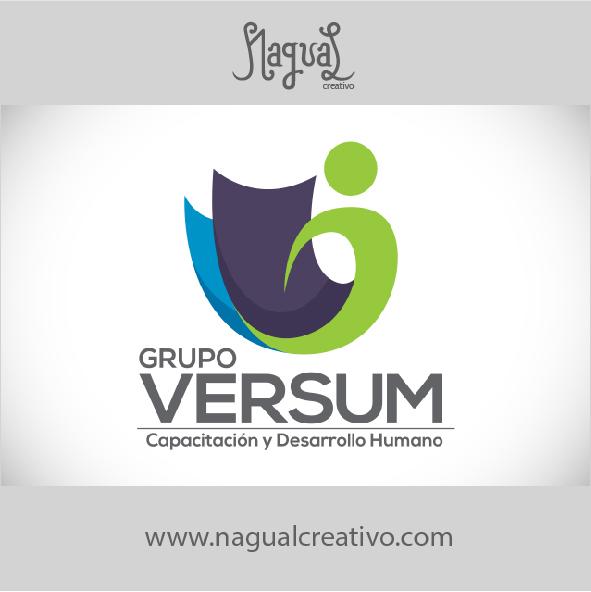 GRUPO VERSUM - Diseño de marca - Nagual Creativo