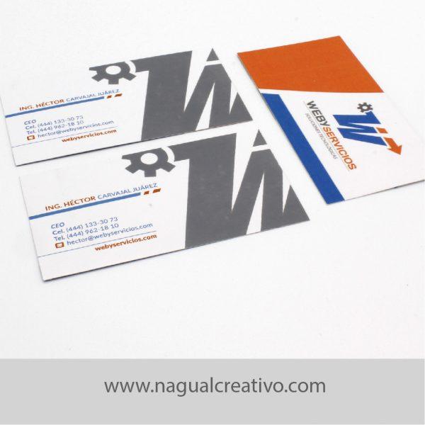 WEBY SERVICIOS - IDENTIDAD CORPORATIVA - NAGUAL CREATIVO