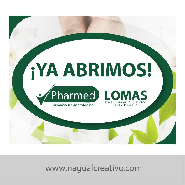 PHARMED - DISEÑO PARA MARKETING DIGITAL -Nagual Creativo 1