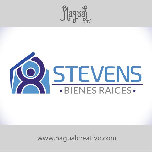 STEVENS BIENES Y RAICES - Diseño de marca - Nagual Creativo