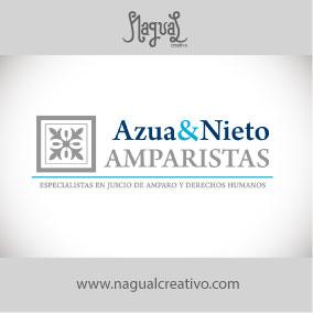 AZUA&NIETO AMPARISTAS - Diseño de marca - Nagual Creativo