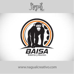 BAISA BALEROS - Diseño de marca - Nagual Creativo
