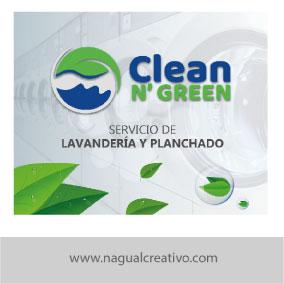 CLEAN N GREEN 2-Diseño de publicidad-Nagual Creativo