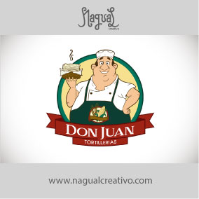 DON JUAN TORTILLERIAS - Diseño de marca - Nagual Creativo