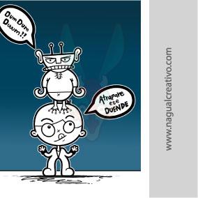 DUENDE-Ilustración y diseño de personajes-Nagual Creativo