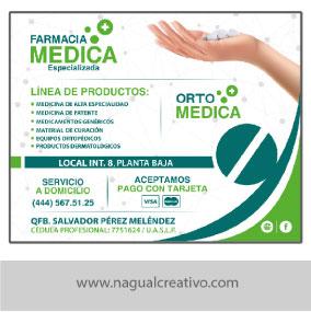 FARMACIAS MEDICAS 2-Diseño de publicidad-Nagual Creativo