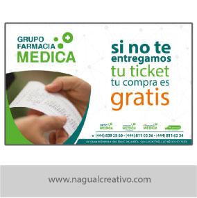 FARMACIAS MEDICAS-Diseño de publicidad-Nagual Creativo