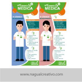 FARMACIAS MEDICAS- IDENTIDAD CORPORATIVA-NAGUAL CREATIVO