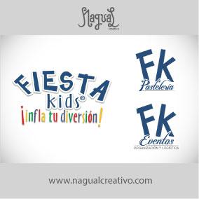 FIESTA KIDS - Diseño de marca - Nagual Creativo