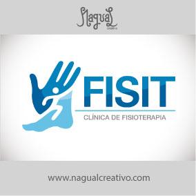 FISIT FISIOTERAPIA - Diseño de marca - Nagual Creativo