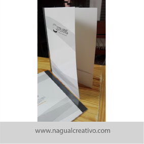 FOLDERS-IDENTIDAD CORPORATIVA-NAGUAL CREATIVO