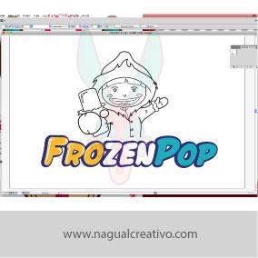 FROZENPOP-Ilustración y diseño de personajes-Nagual Creativo