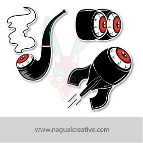 Ilustración y diseño de personajes-Nagual Creativo