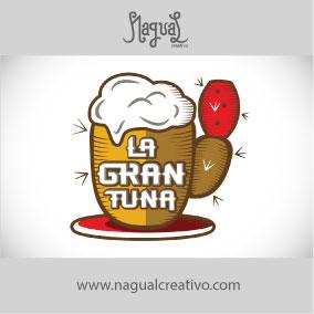 LA GRAN TUNA BAR - Diseño de marca - Nagual Creativo