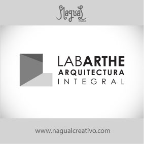 LABARTHE ARQUITECTURA - Diseño de marca - Nagual Creativo