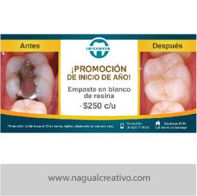 ODONTOLOGO-Diseño de publicidad-Nagual Creativo