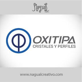 OXITIPA CRISTALES - Diseño de marca - Nagual Creativo