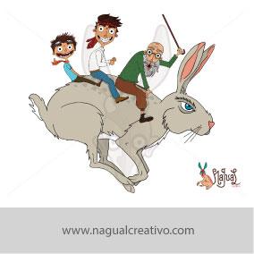 PICNIC-Ilustración y diseño de personajes-Nagual Creativo