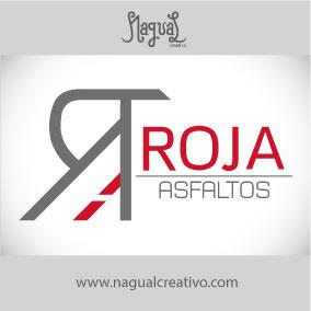 ROJA ASFALTOS - Diseño de marca - Nagual Creativo