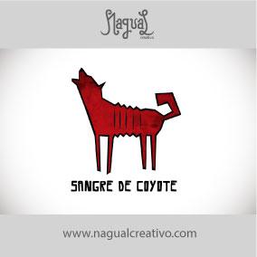 SANGRE DE COYOTE - Diseño de marca - Nagual Creativo