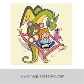 TOMOGO-Ilustración y diseño de personajes-Nagual Creativo (2)