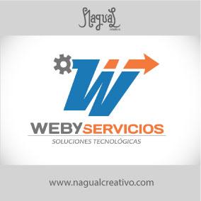 WEBY SERVICIOS - Diseño de marca - Nagual Creativo
