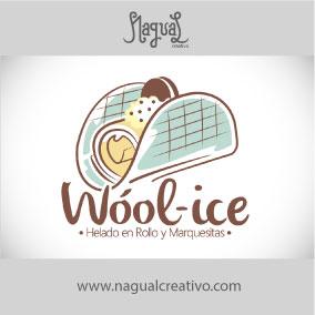 WOOL ICE - Diseño de marca - Nagual Creativo