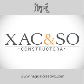 XAC&SO CONSTRUCTORA - Diseño de marca - Nagual Creativo