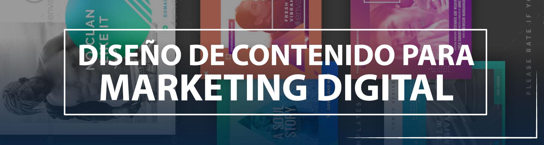 Diseño de contenido para markenting digital - Nagual Creativo
