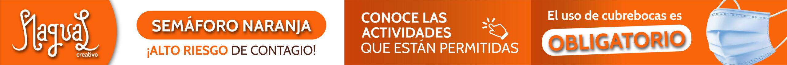 COVID - NAGUAL CREATIVO - SEMAFORO naranja